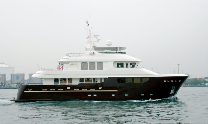 LONG-RANGE EXPEDITION YACHT B91 PROJECT